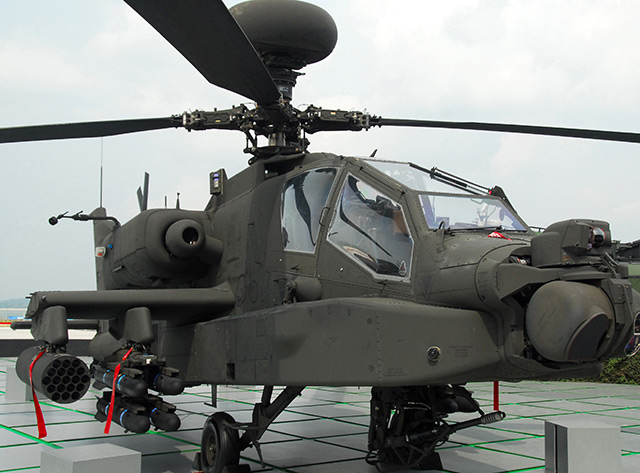 US military breakthrough as long-range laser weapon system mounted to Apache helicopter